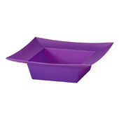 OASIS ESSENTIALS™ Square Bowl - Purple - 12/Pack