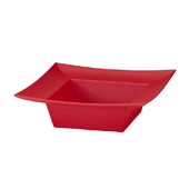 OASIS ESSENTIALS™ Square Bowl - Red - 12/Pack