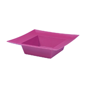 OASIS ESSENTIALS™ Square Bowl - Strong Pink - 12/Pack
