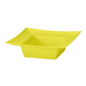 OASIS ESSENTIALS™ Square Bowl - Yellow - 12/Pack