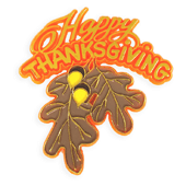 Fall Holiday OASIS Floral Picks - Thanksgiving - 12/Pack