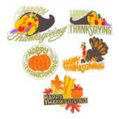 Fall Holiday OASIS Floral Picks - Thanksgiving Super Pak - 72/Pack