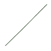 "OASIS Flocked Wire - 15"" Green - 100/Pack"