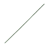 "OASIS Flocked Wire - 30"" Green - 100/Pack"