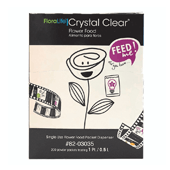 OASIS Floralife CRYSTAL CLEAR® Flower Food 300 - 1 pt./0.5 L Packet - 200/Box
