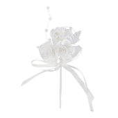 OASIS Flowered Floral Picks - Flower Lace and Pearl - 6/Pack