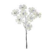 OASIS Flowered Floral Picks - Flower Pearl and Crystal - 48/Pack