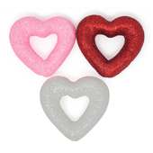 "Foam Open Heart OASIS Floral Picks - 2"" Assortment - 6/Pack"