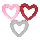 "Foam Open Heart OASIS Floral Picks - 3 1/8"" Assortment - 4/Pack"