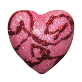 Foam Solid Heart OASIS Floral Picks - Swirl - 10/Pack