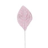 OASIS Glitter Corsage Leaf - Glitter Pink - 50/Pack