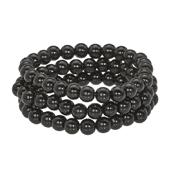 OASIS Handy Pearl Wristlets Narrow - Black - 1/Pack