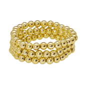 OASIS Handy Pearl Wristlets Narrow - Gold - 1/Pack
