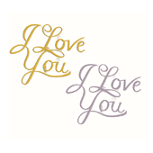 "I Love You OASIS Floral Picks - 3"" I Love You Assortment - 12/Pack"