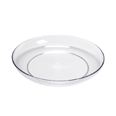 "OASIS LOMEY® Designer Dish - 9"" - Clear"