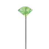 OASIS LOMEY™ Diamante Pin - Apple Green - 100/Pack
