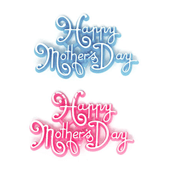 "Mother's Day OASIS Floral Picks - 2 1/2"" Happy Mother's Day - 12/Pack"