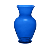 OASIS 11″ Color Bouquet Vase - Cobalt - 6/Case