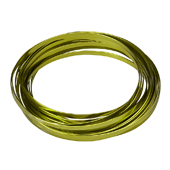 OASIS 3/16″ Flat Wire - Apple Green - 1/Pack