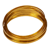 OASIS 3/16″ Flat Wire - Gold - 1/Pack