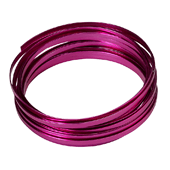 OASIS 3/16″ Flat Wire - Strong Pink - 1/Pack