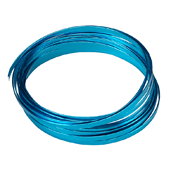 OASIS 3/16″ Flat Wire - Turquoise - 1/Pack