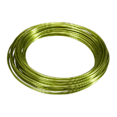 OASIS Aluminum Wire - Apple Green - 1/Pack