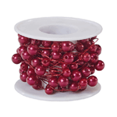 OASIS Beaded Wire - Red - 1/Pack