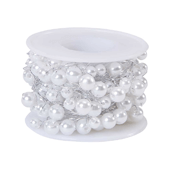 OASIS Beaded Wire - White - 1/Pack