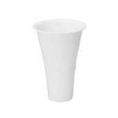 "OASIS Cooler Bucket Cone - White - 10"" - 12 Case"