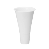 "OASIS Cooler Bucket Cone - White - 13"" - 12 Case"