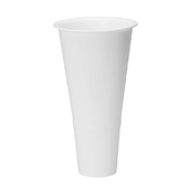 "OASIS Cooler Bucket Cone - White - 16"" - 12 Case"
