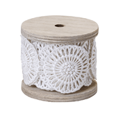 "OASIS Cotton Lace - 2"" Medallion - 1/Pack"