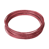 OASIS Etched Wire - Ruby Matte - 1/Pack