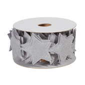 OASIS Felt Wrap with Adhesive Back - Gray Star - 1/Pack