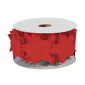 OASIS Felt Wrap with Adhesive Back - Red Star - 1/Pack