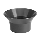 OASIS Flare Bowl - Black - 12 Case