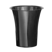 "OASIS Free-Standing Cooler Bucket - Black - 10"" - 6 Case"