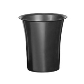 "OASIS Free-Standing Cooler Bucket - Black - 8 1/2"" - 6 Case"