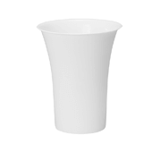 "OASIS Free-Standing Cooler Bucket - White - 13"" - 6 Case"