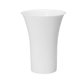 "OASIS Free-Standing Cooler Bucket - White - 16"" - 6 Case"