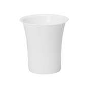 "OASIS Free-Standing Cooler Bucket - White - 8 1/2"" - 6 Case"