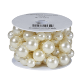 OASIS Mega Beaded Wire - Ivory - 1/Pack