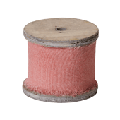 OASIS Raw Muslin - Coral - 1/Pack
