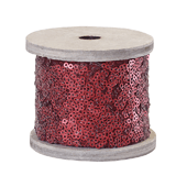 OASIS Sequin Wrap - Ruby Matte - 1/Pack