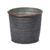 OASIS Tin Pots - SLATE - 6-1/2