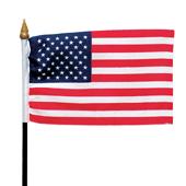 """OASIS Patriotic Flag - 6"""" x 4"""" - 1/Pack"""
