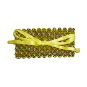 OASIS Pearl Wristlets - Gold - 1/Pack