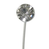 OASIS Rhinestone Floral Picks - 6mm Crystal - 12/Pack