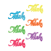 Thank You OASIS Floral Picks - Assortment - 12/Pack